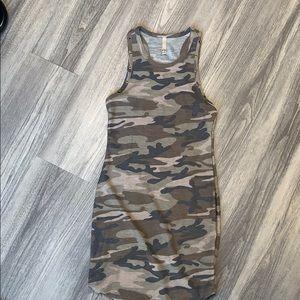 Vici camo dress